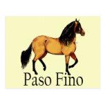 Ante Paso Fino del caballo de Paso Postales