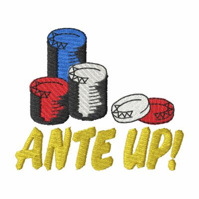 Ante Up Embroidered Shirt
