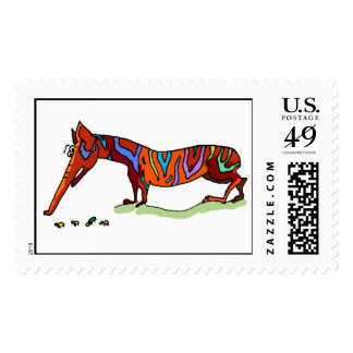 Anteater Postage Stamps