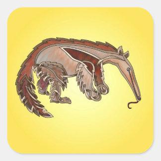 Anteater Square Sticker