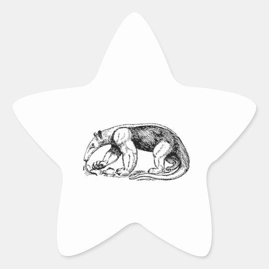 Anteater Star Sticker