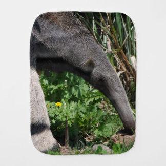 Anteater Baby Burp Cloth