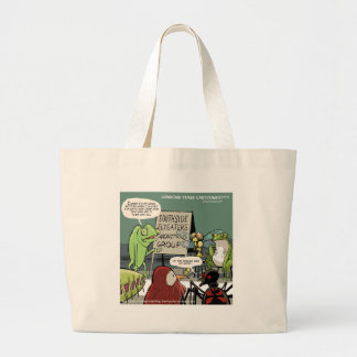 Anteaters Anonymous 12-Step Funny Large Tote Bag