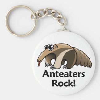 Anteaters Rock! Keychain