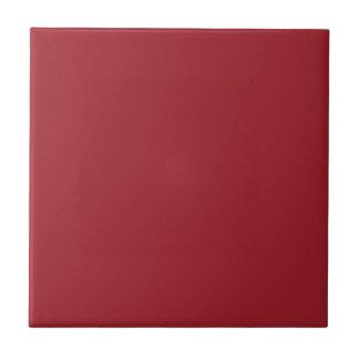 Antecedentes del rojo del sello. Tendencia elegant Azulejo Cuadrado Pequeño