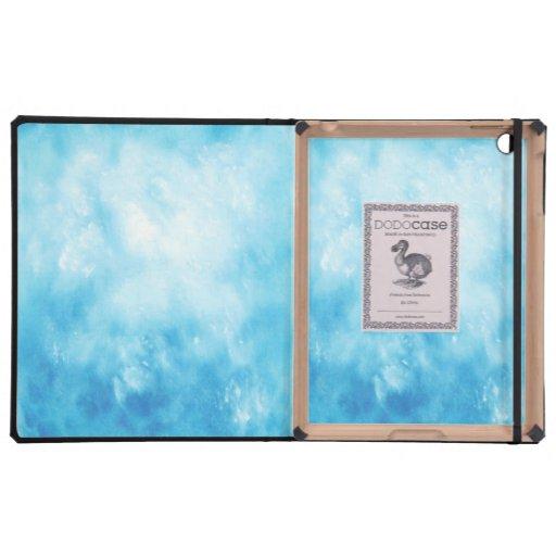 Antecedentes dibujados mano abstracta de la acuare iPad protectores