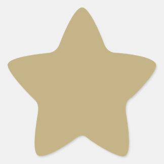 Antecedentes metálicos del reflejo del oro. Color Calcomanías Forma De Estrella Personalizadas