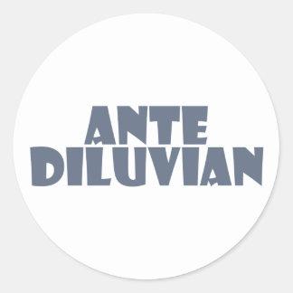 antediluvian stickers