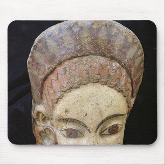 Antefix con una cabeza femenina de Cerveteri Tapete De Ratones