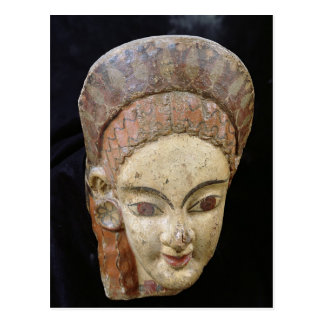 Antefix con una cabeza femenina, de Cerveteri Postal