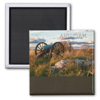 Anteitam Autumn Cannon 2 Inch Square Magnet