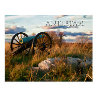 Anteitam Autumn Cannon Postcard
