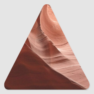 Antelope Canyon 8 Triangle Sticker