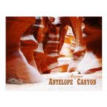 Antelope Canyon, Arizona Postcard