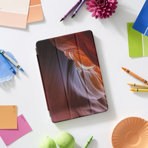 antelope-canyon-artistic-bright iPad pro cover
