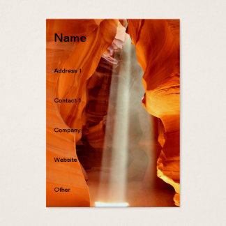 Antelope Canyon Business Card