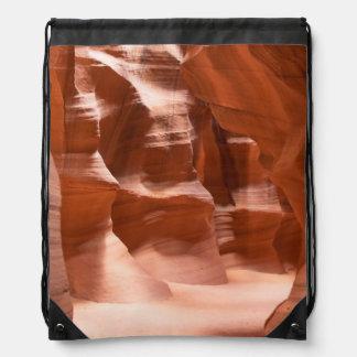 Antelope Canyon, Naturally Lit Drawstring Backpack