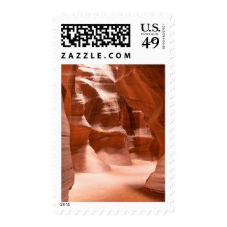 Antelope Canyon, Naturally Lit Stamp