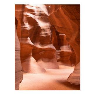 Antelope Canyon, Naturally Lit Postcard