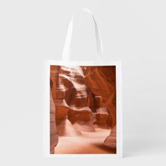 Antelope Canyon, Naturally Lit Reusable Grocery Bag