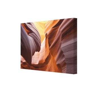 Antelope Canyon or Corkscrew Canyon, Arizona… Canvas Print