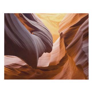 Antelope Canyon or Corkscrew Canyon, Arizona… Panel Wall Art