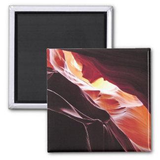 Antelope Canyon, Page Arizona 2 Inch Square Magnet
