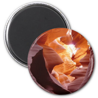 Antelope Canyon Sandstone 2 Inch Round Magnet