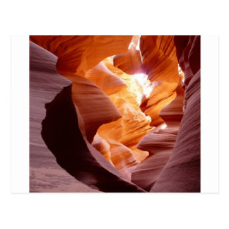 Antelope Canyon Sandstone Postcard