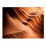 Antelope Canyon Shapes Postcard