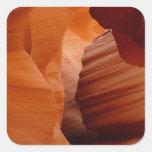 Antelope Canyon Square Stickers