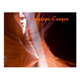 Antelope Canyon's Light Beam Post Cards
