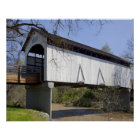 Antelope Creek Covered Bridge, built in 1922 Poster