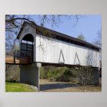 Antelope Creek Covered Bridge, built in 1922 Poster