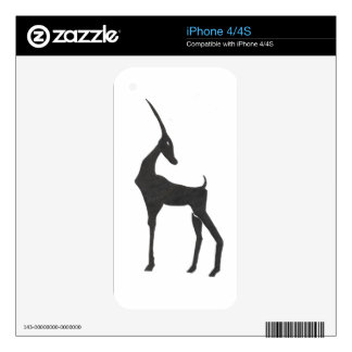 Antelope Decal For The iPhone 4S