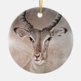 Antelope Double Sided Ornament