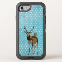 ANTELOPE, FEATHERS &  OWL OtterBox DEFENDER iPhone 8/7 CASE