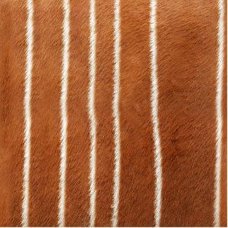 Antelope Fur Pattern Acrylic Cut Out