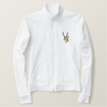 Antelope Head Embroidered Jacket