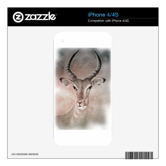 Antelope IPhone 4S Skin For The iPhone 4