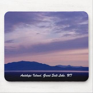 Antelope Island, Great Salt Lake, UT Mouse Pad