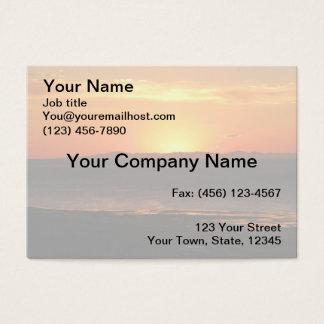Antelope Island Sunset Business Card