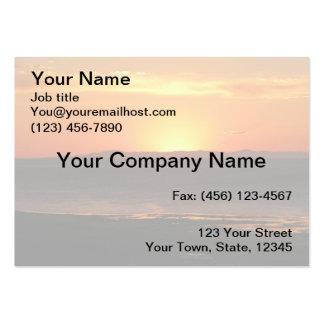 Antelope Island Sunset Large Business Card