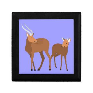 Antelope Mom and Baby Gift Box