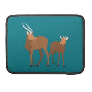 Antelope Mom and Baby MacBook Pro Sleeve