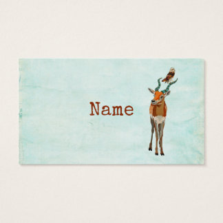 ANTELOPE & OWL Business Card