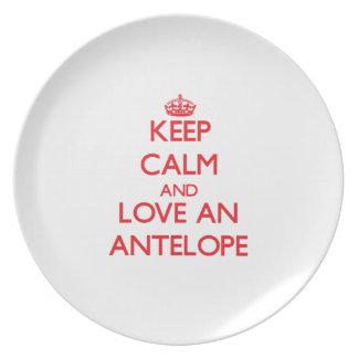 Antelope Plate
