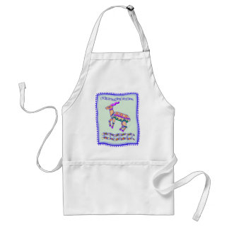 Antelope Quilt Adult Apron