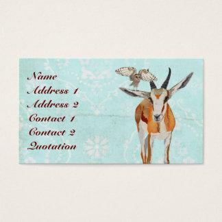 ANTELOPE & WINGS Business Card