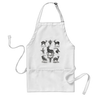 Antelopes Adult Apron